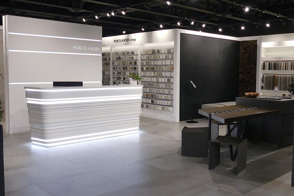 Miami Design District Showroom Interior