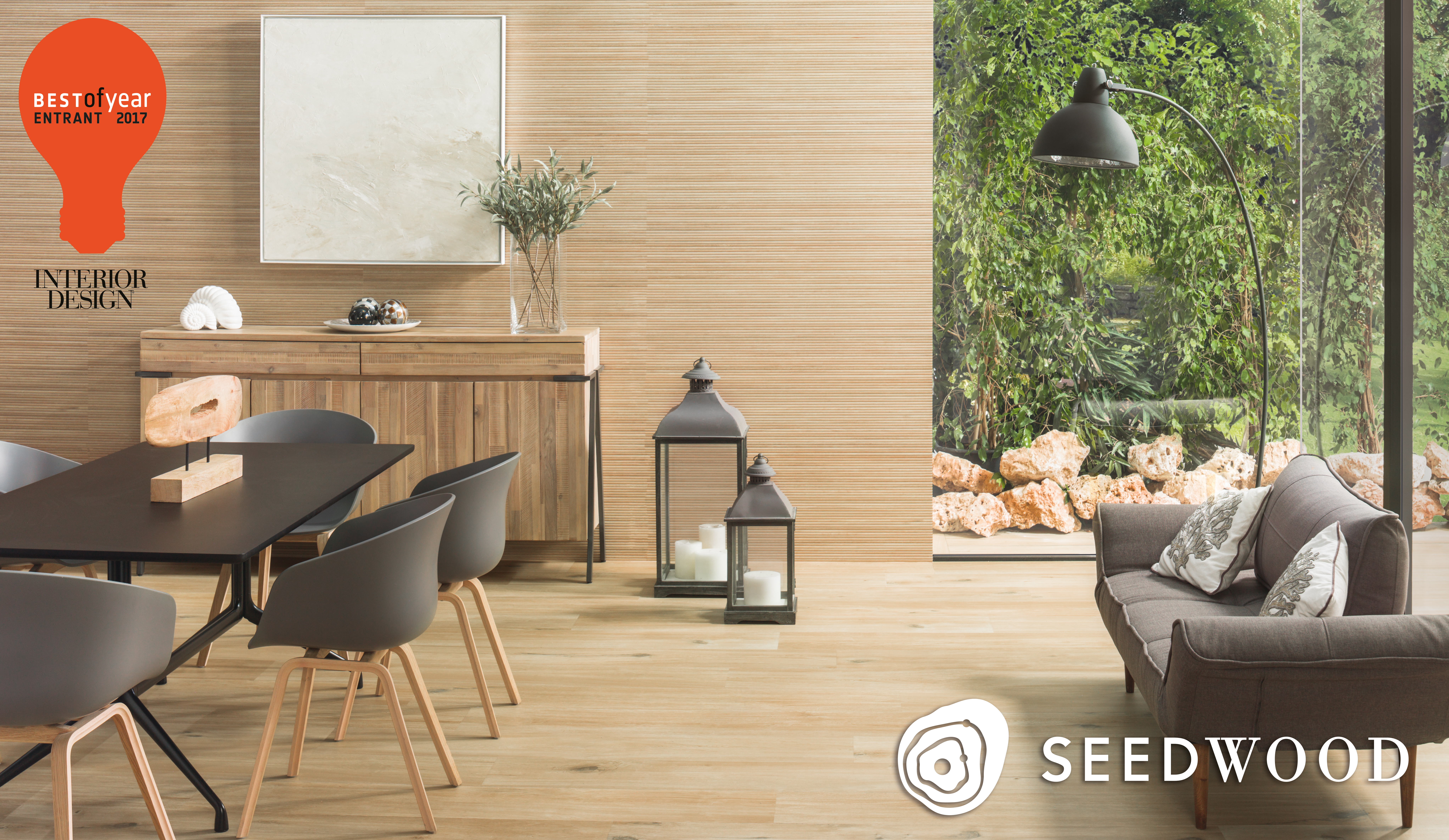 Vote for porcelanosas seedwood collection in interior designs best of year awards