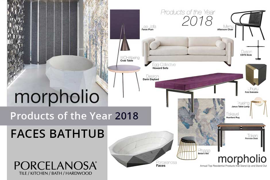 Faces selected as a Morpholio Product of the Year - 2018