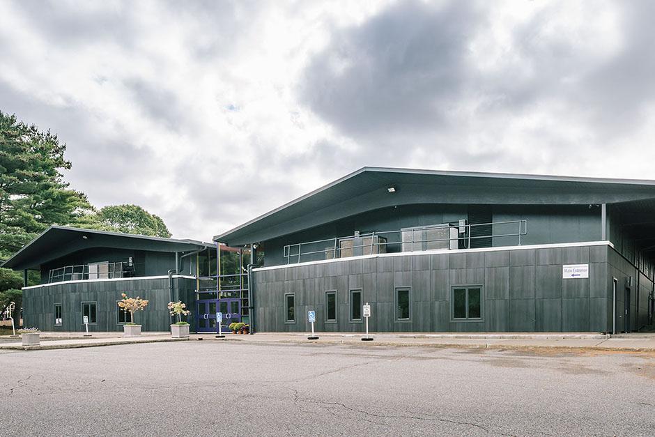 The Mead School facade