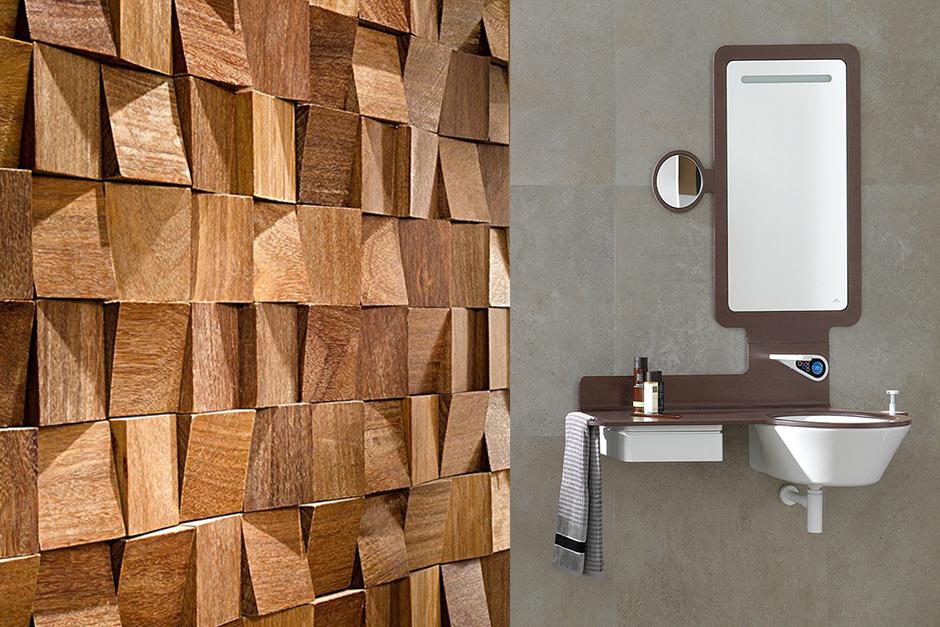Wood Feel/Mood Mirror