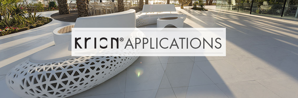 Krion Applications