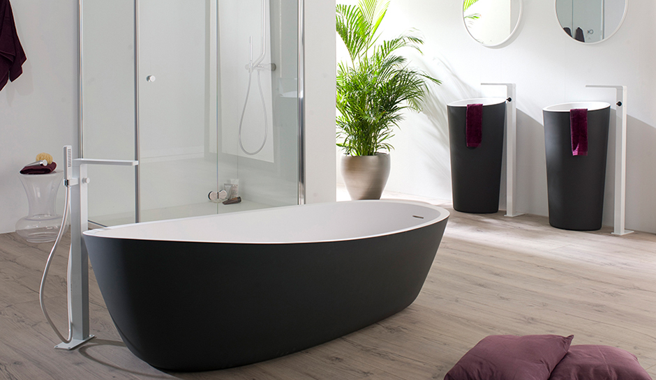 Krion Bathtub and Sinks