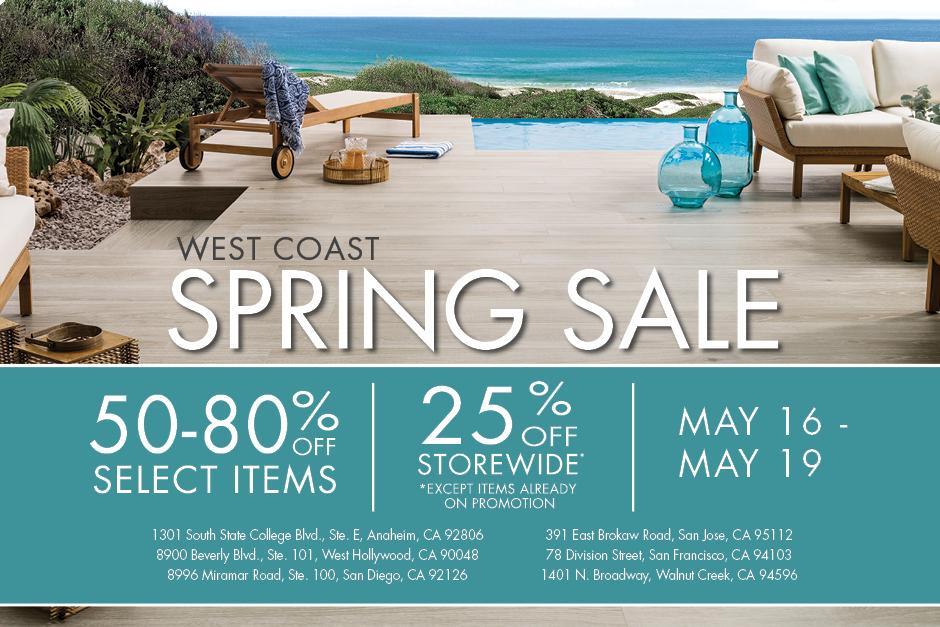 WEST COAST _ spring sale