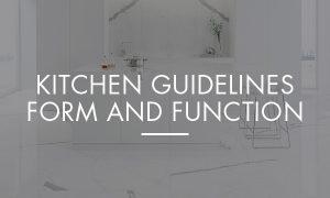 Kitchen Guidelines