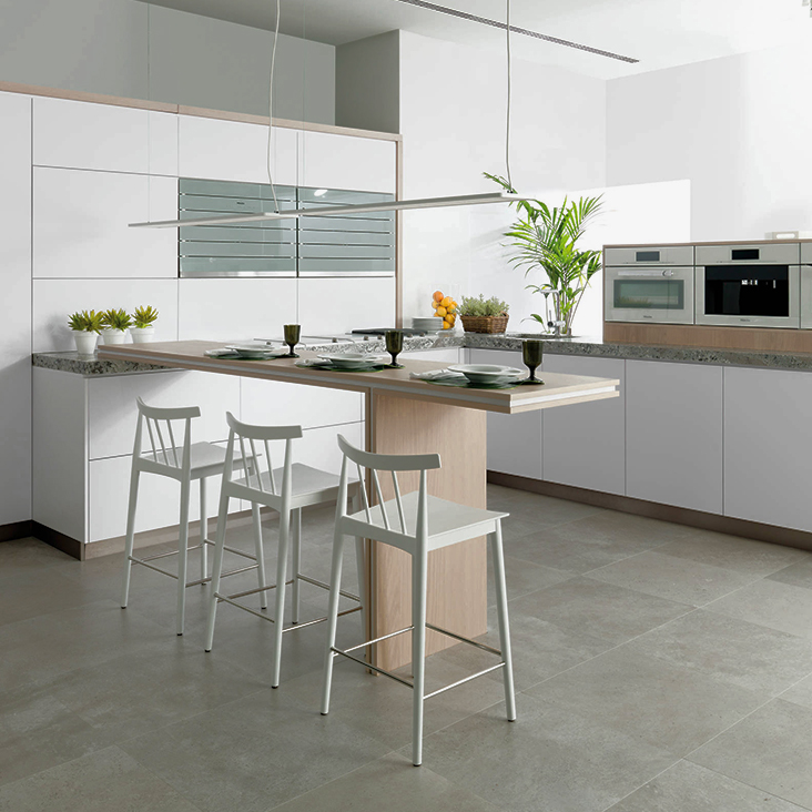 Timeless Black And White Kitchen Designs Porcelanosa
