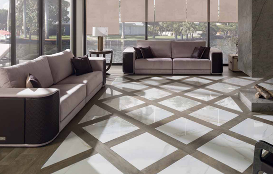 Marble Combinations Breathe New Life into a Room | Porcelanosa