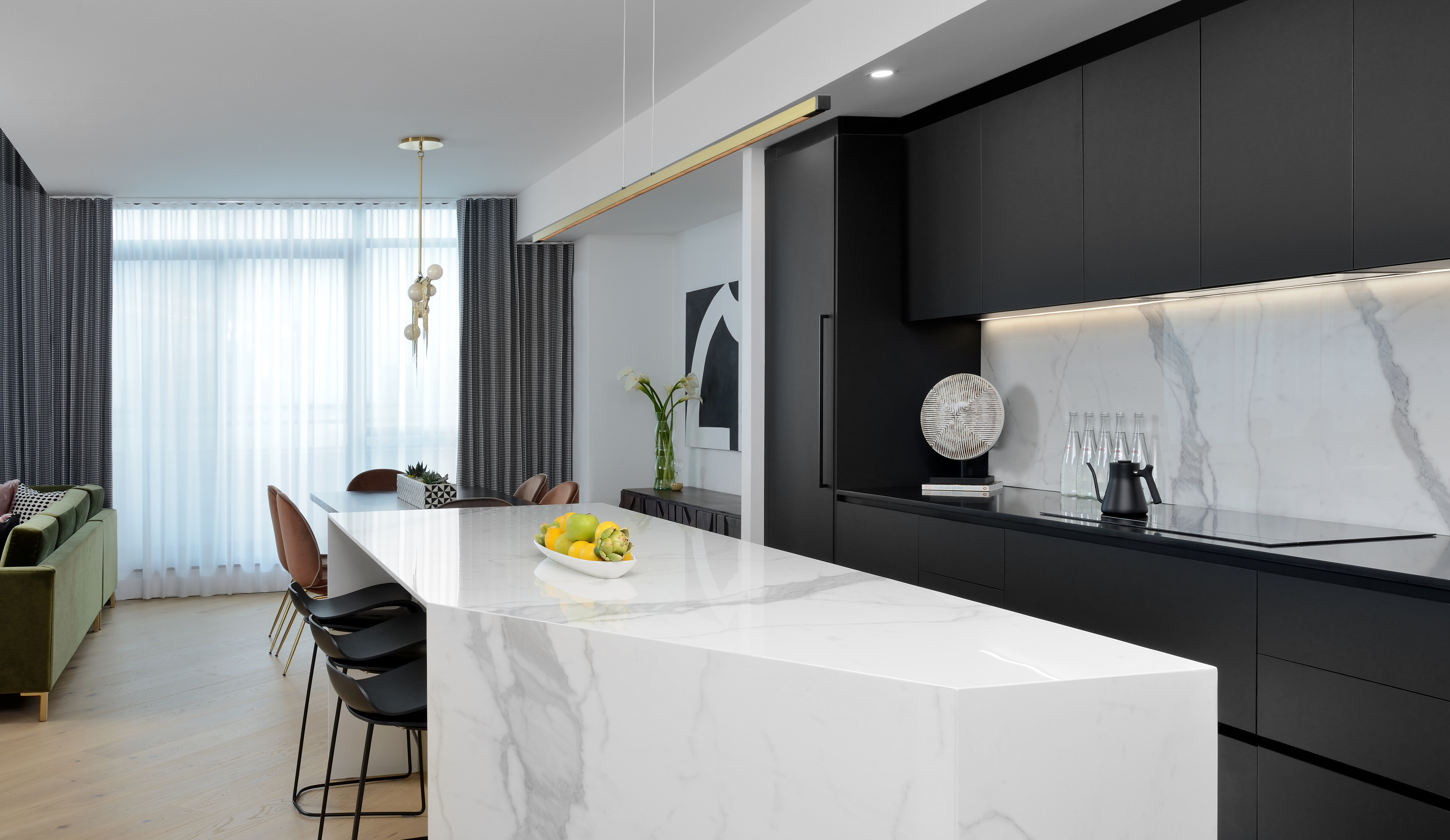 How I Design Stunning Residential Condos With Large Format